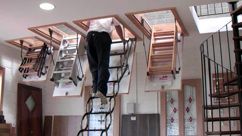 Модели чердачных лестниц