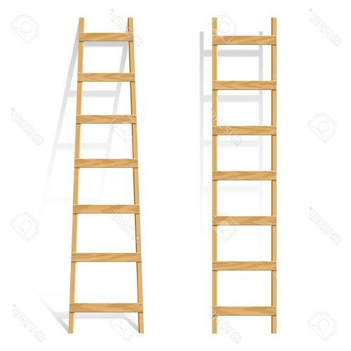 Варианты самодельных приставных лестниц