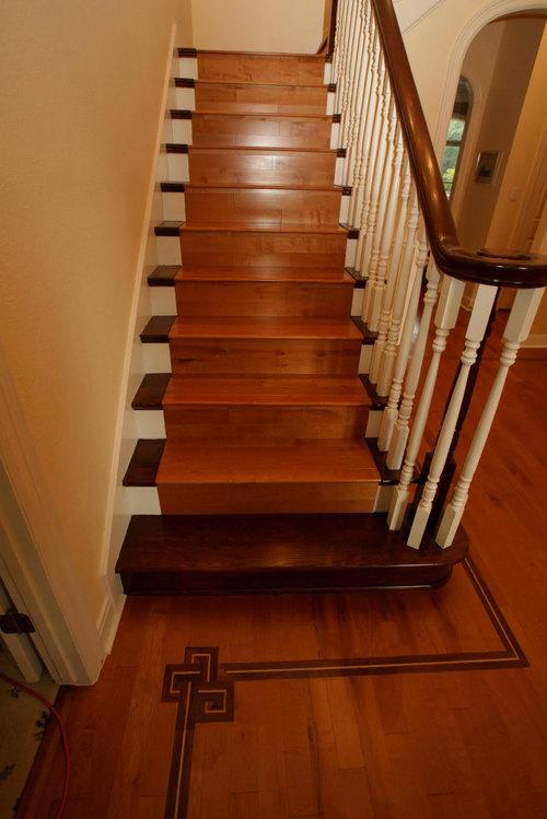 Маршевая лестница от Леруа Мерлен