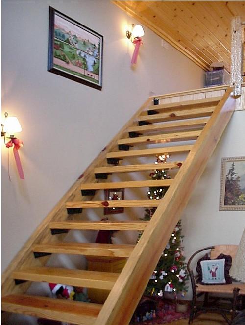 В маленьких домах применимы более простые варианты