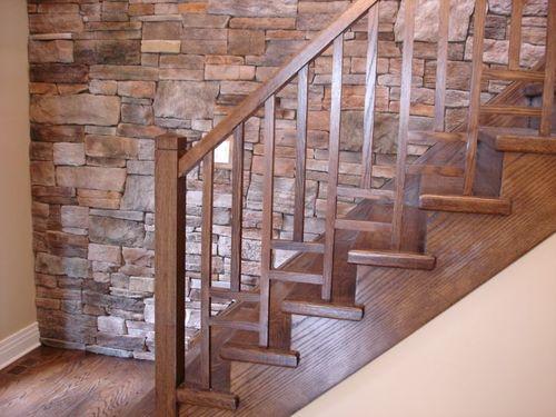 Вид на лестницу сбоку
