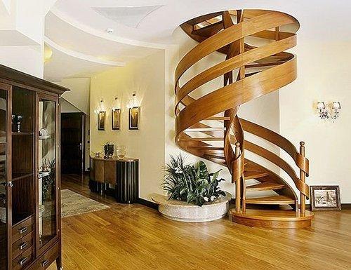 У этой спиральной конструкции тоже