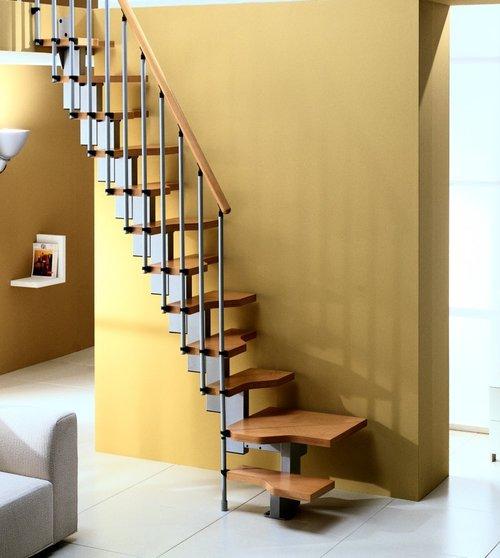 Мансардная лестница Гусиный Шаг