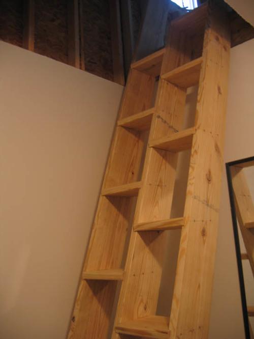 Лестница необычной конструкции