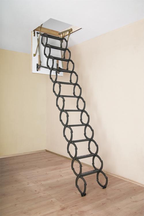 Складная чердачная лестница от Факро