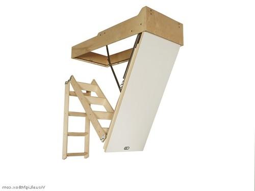 Конструкция люка с лестницей на чердак