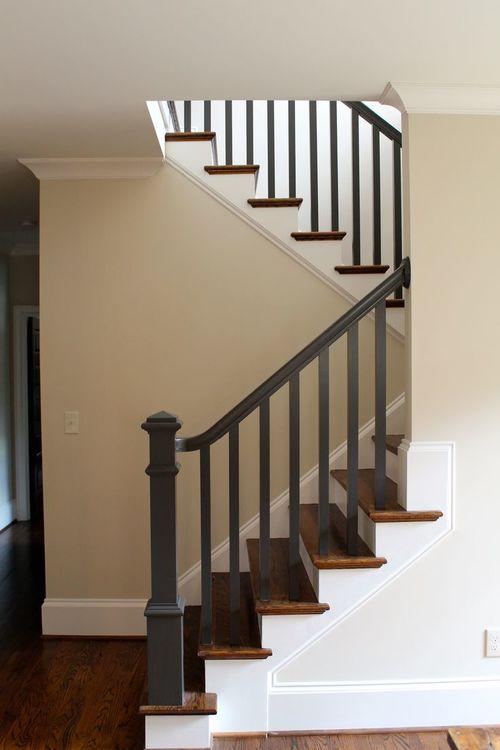 Традиционное исполнение деревянной лестницы