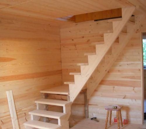 Виды лестницы на второй этаж своими руками