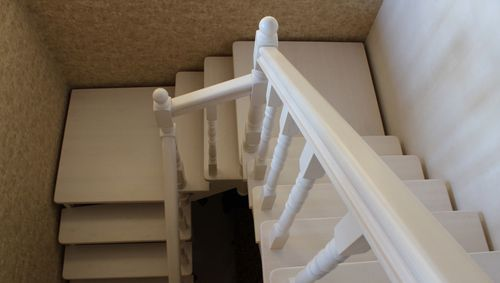 Лестница с поворотом на 180 своими руками 835