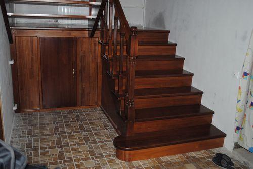 Деревянная лестница своими руками на 180 градусов фото 551